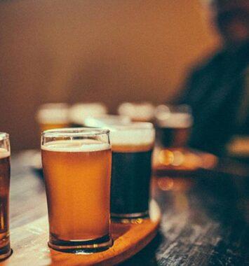 Ølsmagning til farfar