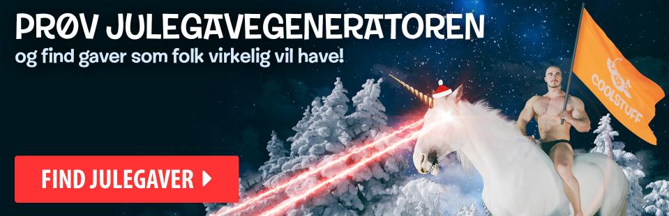 Julegaveønsker 2018 - julegave-generatoren - hjælp med at finde julegave