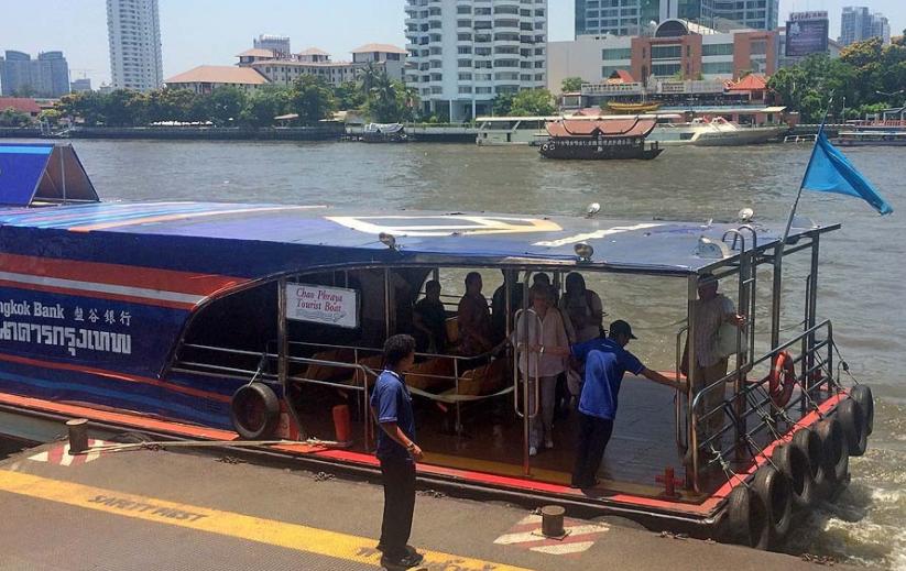 seværdigheder bangkok flod taxi