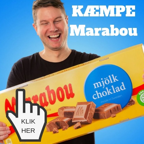 kæmpe chokolade som gave