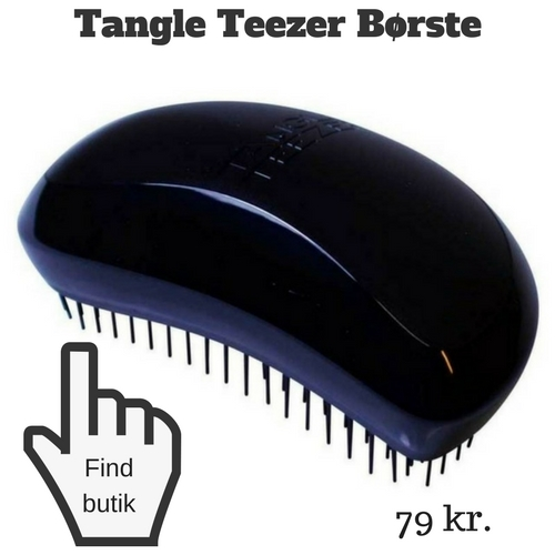 tangle teezer mod filtret hår