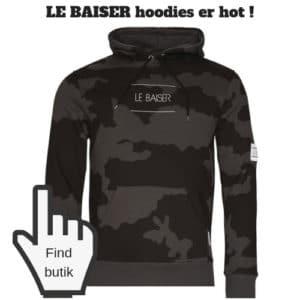 Le Basier hoodie til teen