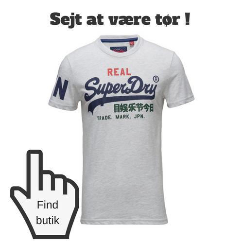 Sejt tøj til teenage dreng fra Super Dry