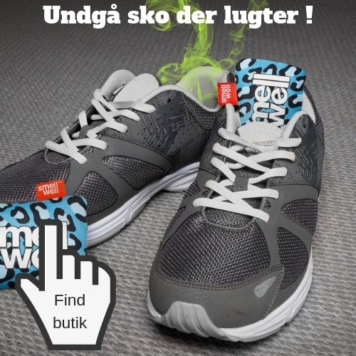 Undgå sko der lugter