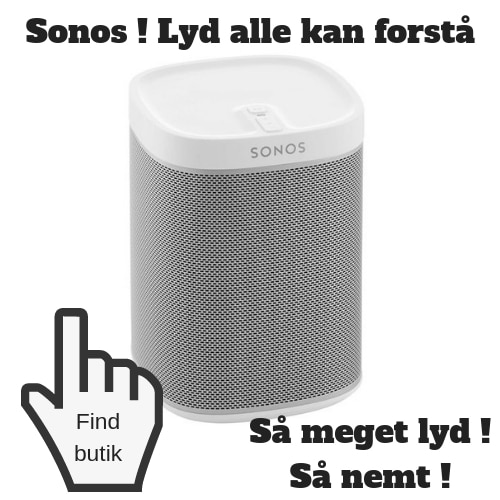 Julegave til mand Sonos