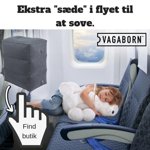 huskeliste til ferien ekstra plads i flyet