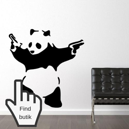wallsticker natur sjove klistermærker til væg