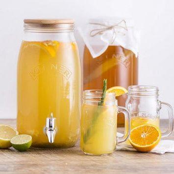 Beholdere til juice og drinks