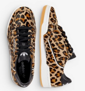 Adidas sneakers leopard