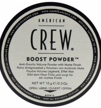 American Crew Boost Powder - perfekt til fedtet hår