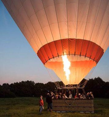 Ballonflyvning for bedsteforældre - en god gave