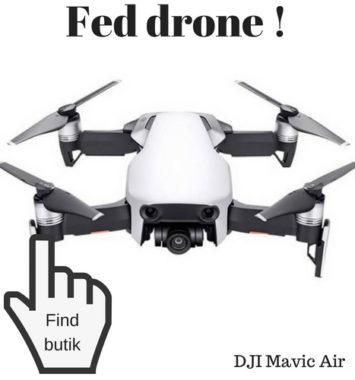 DJI Mavic air gadget gave til mand