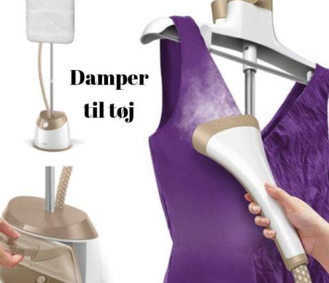 Damper til tøj stryge uden strygebræt tøjdamper
