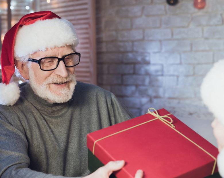 personlig gave til bedstefar