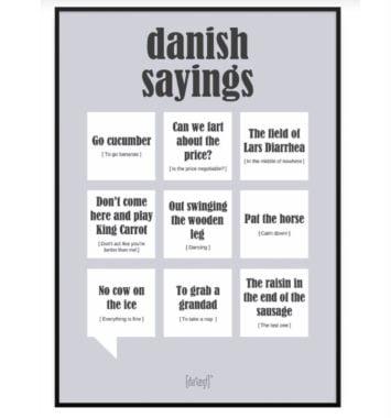 dialaegt citat plakat danish saying