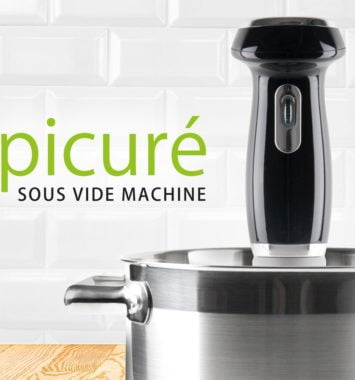 Sous vide maskine til mad