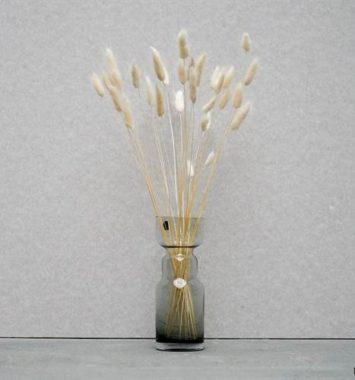 evighedsbuket med toerede blomster