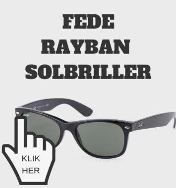 Fede solbriller som gave