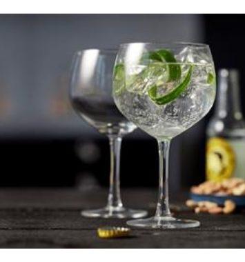 Flotte gin og tonic glas