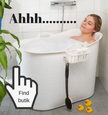 Gave til konen lækkert badekar