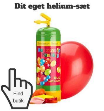 Gaveideer til teenager helium balloner