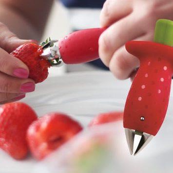 Lille sjov jordbærpiller