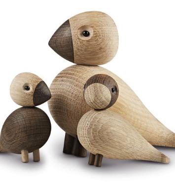 Sangfugle i træ