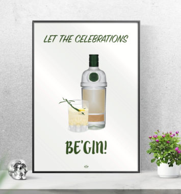 Let the celebrations begin - venindeplakat