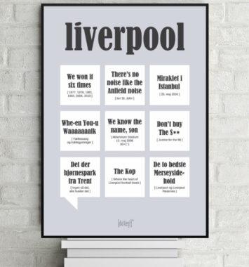Plakat til Liverpool fan