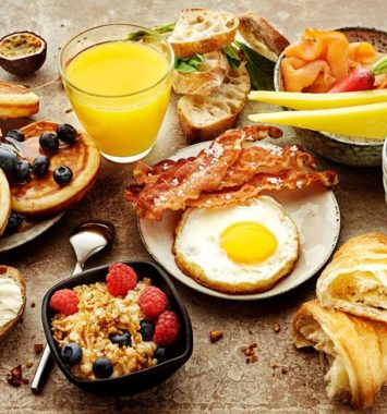 Luksusbrunch for to