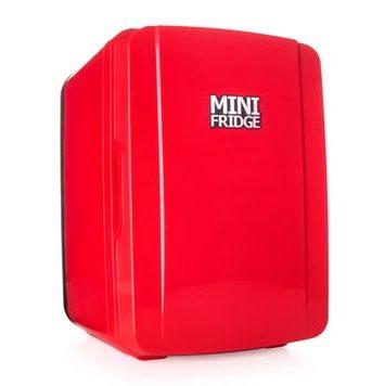 mini koeleskab i rød