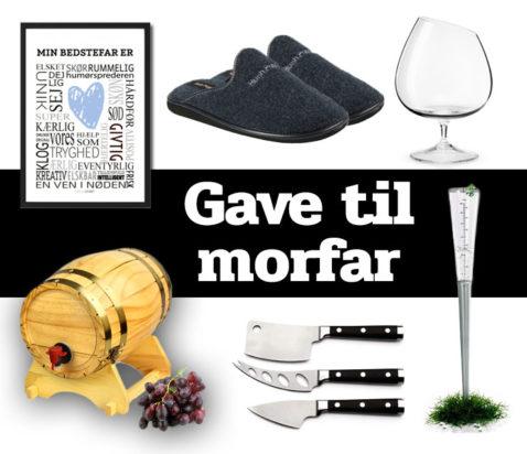Morefews gave til morfar