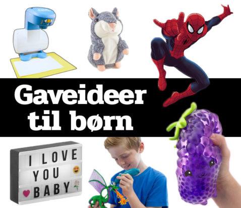 Morefews gaveideer til børn