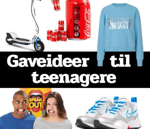 Morefews gaveideer til teenagere