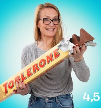 kæmpe toblerone chokolade