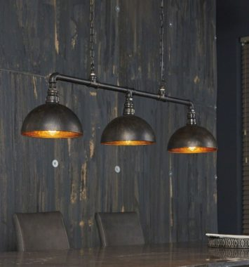 loftlampe metal look