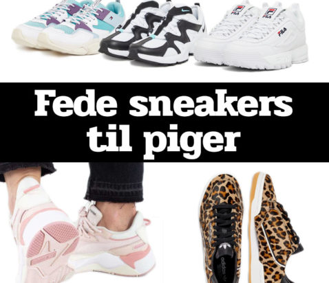 Morefews sneakers til piger