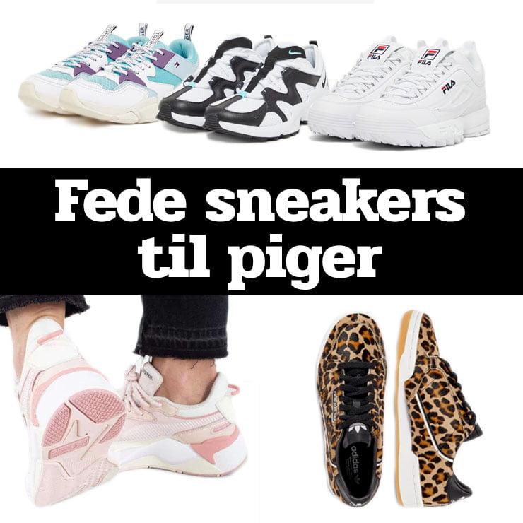 Sneakers til piger → Se 13 blændende sneakers i 2020 (guide)