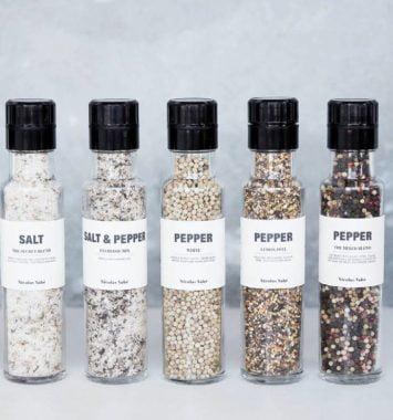 Nicolas Vahe krydderier og salt