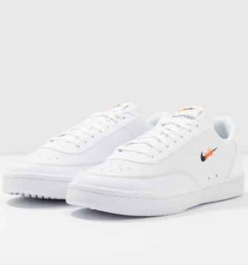 Nike Court Vintage W - White/Total Orange/Black