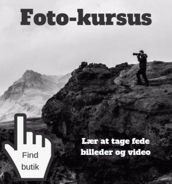 Oplevelse gave foto kursus