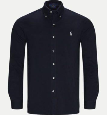 blaa polo skjorte regular fit