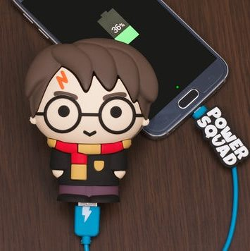 powerbank med harry potter