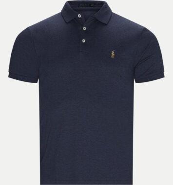 Blå Ralph Lauren polo t-shirt