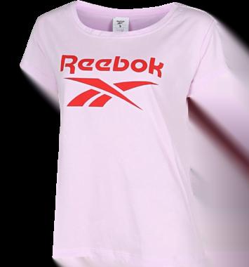 t-shirt traeningsbluse lyserod