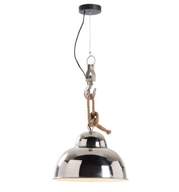 Sølv retro loftslampe