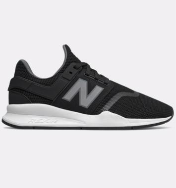 Sorte newbalancen sneakers med sort bund