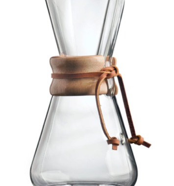 glas kaffebrygger