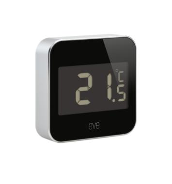 sort udendørs termometer