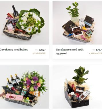 Forskellige blomstergavekurve